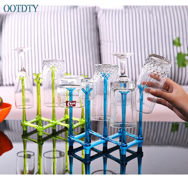 Baby Feeding Bottle Rack Drying Nipple Stand Cup Storage Folding Drainer Dryer #330