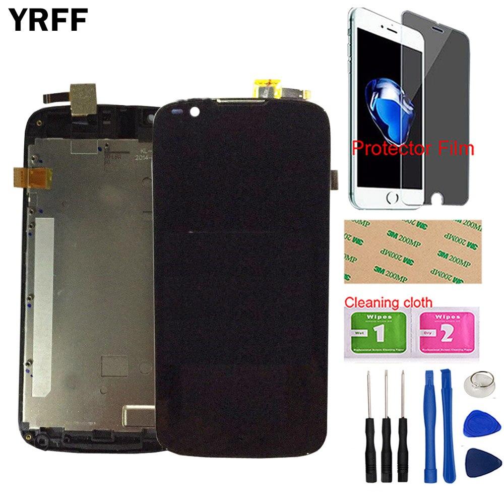 Écran LCD Mobile pour Fly IQ4413 écran LCD écran tactile panneau de verre numériseur capteur avant outils en verre + Film protecteur