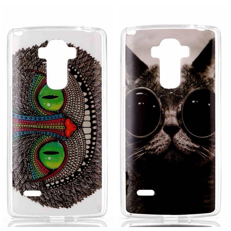 Модные Книги по искусству популярные цветы слон кошка закат на море симпатичный принт медвежонка задняя крышка сотовый телефон чехол для LG …
