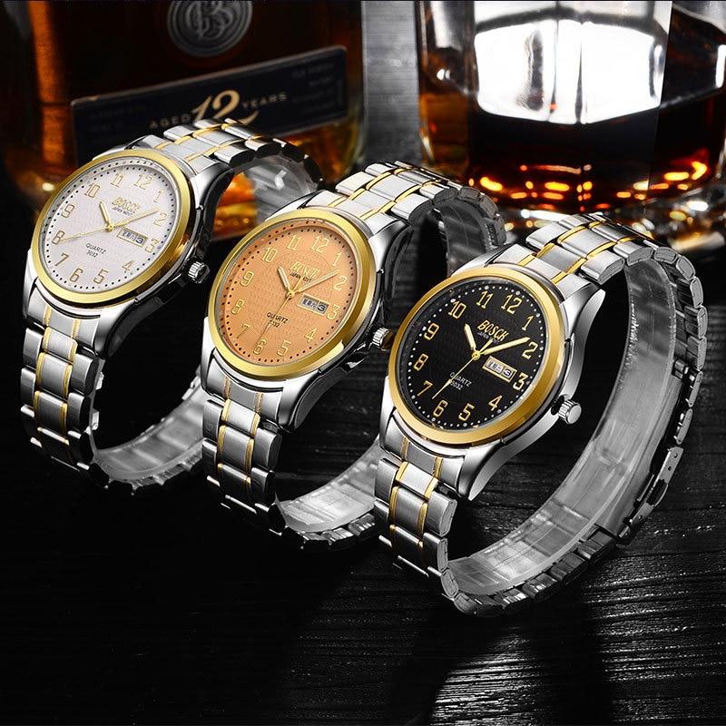 Blu-ray glass belt men's watch male quartz male watch лев blu ray