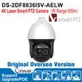 Hik DS-2DF8836I5V-AELW 8MP Câmera Speed Dome PTZ Camera 4 K 4 K Laser Inteligente Câmera Hi-PoE Câmera PTZ ao ar livre IP66 IK10