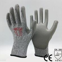 NMSafety Новое прибытие Рабочая защитные перчатки порезостойкие перчатки Анти ссадины безопасности Анти Cut перчатки.