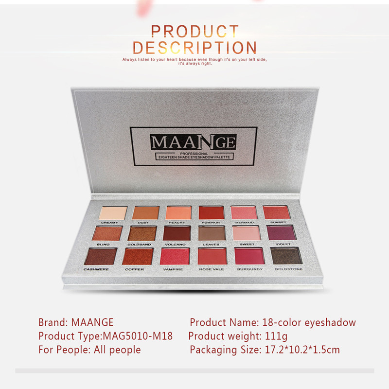 2019 hot sale 18 color eyeshadow waterproof fashion flash diamond eye shadow popular worldwide Eye makeup eye shadow sale in Eye Shadow from Beauty Health