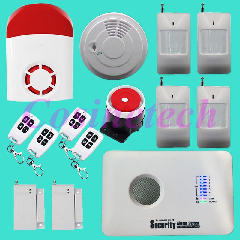 New 3G Alarm system,WCDMA alarm system,GSM SMS home security alarm with strobe siren,fire alarm,PIR detector,door contact fuers wifi gsm sms home alarm system security alarm new wireless pet friendly pir motion detector waterproof strobe siren
