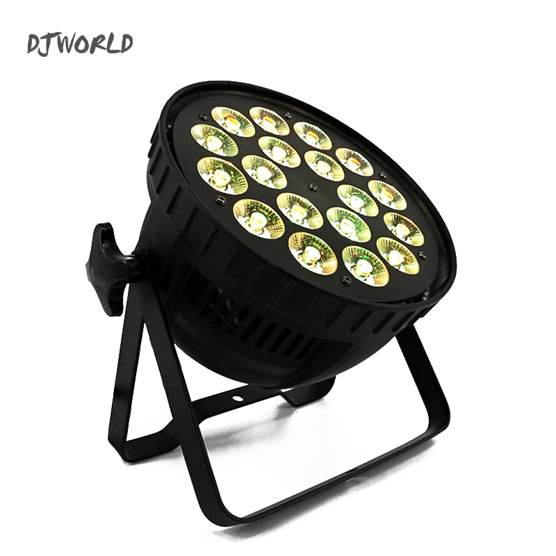 LED Can Par 18x12W RGBW Colour Quad Lights DMX512 Channels Stage Spotlight Perfect For Clubs Event KTV Disco Party Nightclub