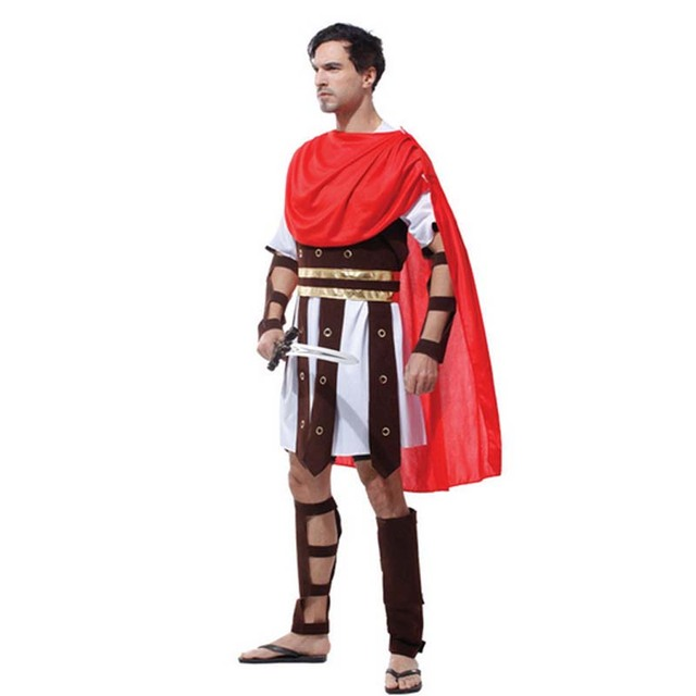 Ancient Roman Clothing For Men: Man Adults Ancient Rome Italy Warrior Soldier Masquerade