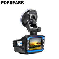 POPSPARK Durable Vehicle Mounted Auto Accessories Car DVR Camera Dash Cam Night Vision Audio Video Record