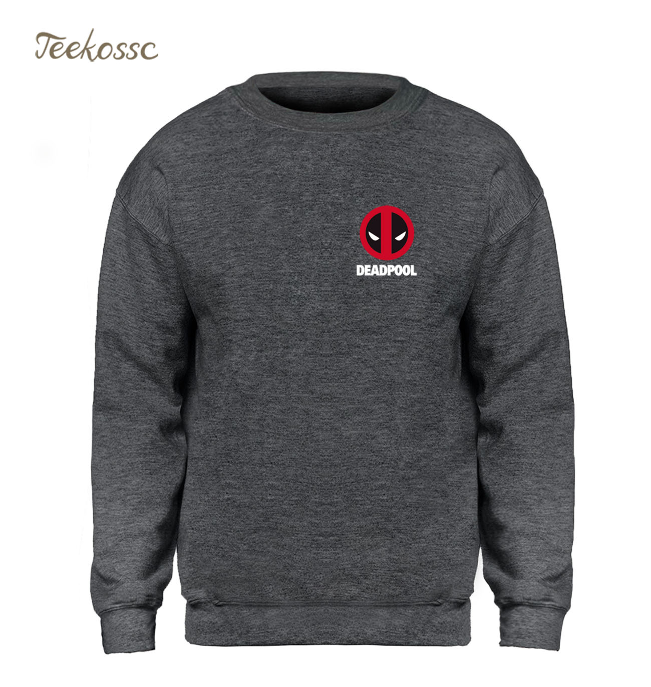 Deadpool X-men Hoodie Sweatshirt Men Super Hero Deal Pool Sweatshirts Mens 2018 Winter Autumn Fleece Warm Grey Cool Streetwear