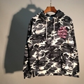 New Anti Social Social Club Hoodies Camouflage The Snow Camo Sweatshirts Drawstring Men Women Hoodies Brand Clothing M-xl