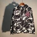 Nuevo anti social club social cordón hombres mujeres hoodies sudaderas con capucha camuflaje de la nieve camo sudaderas marca clothing m-xl