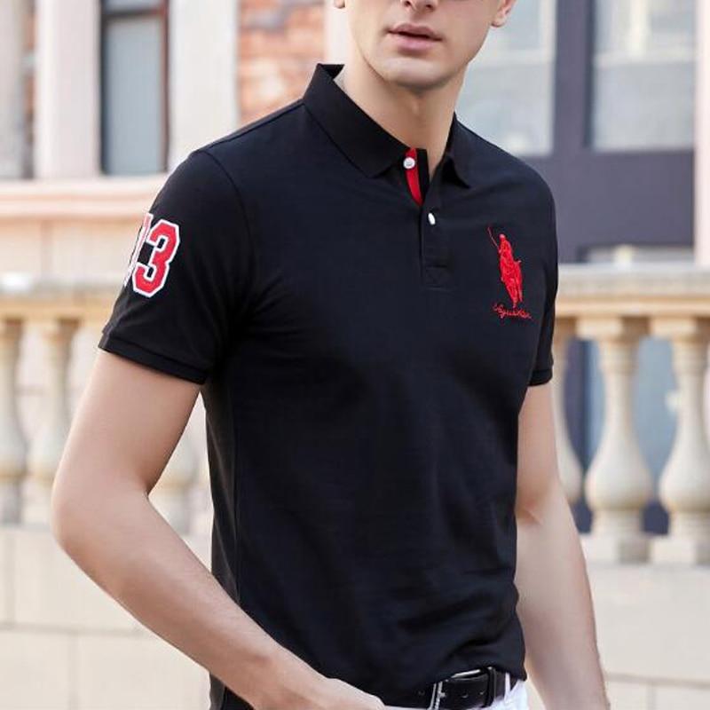 2019 new   polos   High quality brand cotton men   polo   shirt Casual solid shirt   polo   men camisa homme   polos   para hombre
