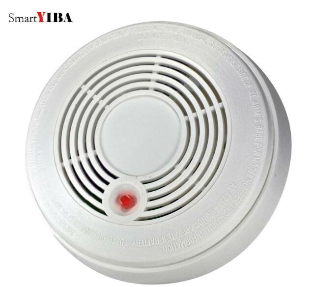 SmartYIBA Independent Fire/Smoke Sensor CO Gas Sensor Smoke Alarm CO Detector Battery Powered 2in1 Combination Smoke&CO Detector