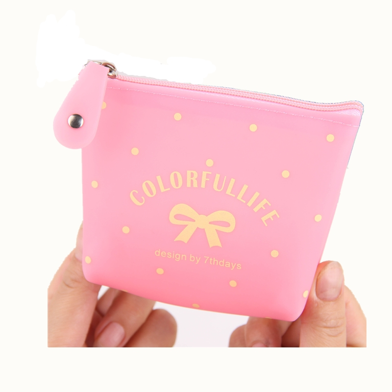 eTya New  2017 New 2017 Coin Purse Wallet Women Cute  Zipper Mini Kids Girl Card Key Holder Bag Case  Makeup Bag Gift