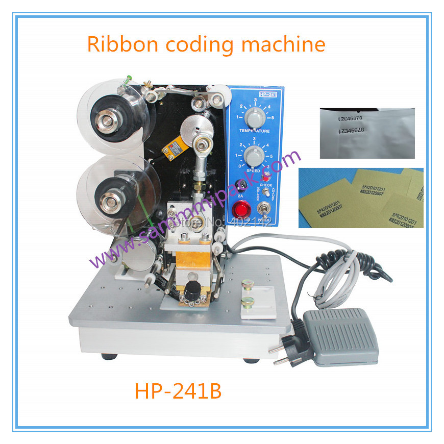 Hot stamp date Coding machine,lot number,production date coding machine,date stamp machine,dater 241B number machine 7 position automatic numbering machine into the number coding page chapter marking machine digital stamp