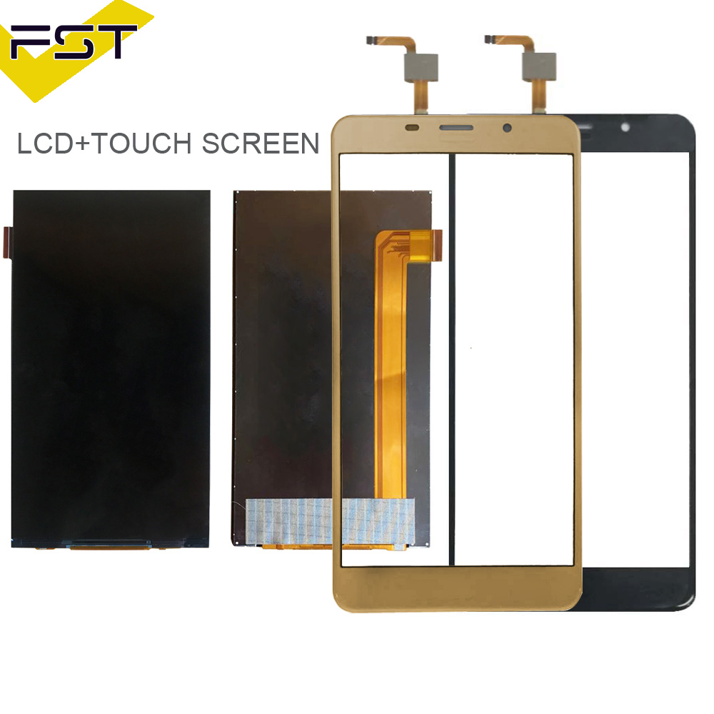 Schwarz/Gold Für Leagoo M8 LCD Display + Touch Screen Digitizer Reparatur Teile für Leagoo M8 Pro LCD Screen glas Panel Sensor + Werkzeuge