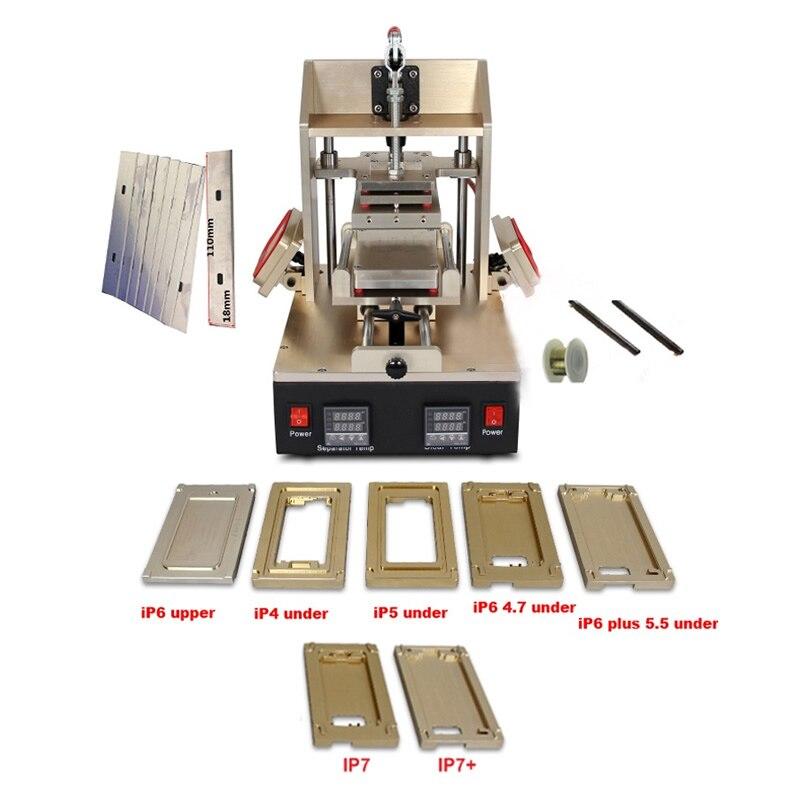 5 в 1 LY 998 Многофункциональный рамка Ближний ЖК дисплей сепаратор машина вакуумная клей для удаления рамка ламинатор подогреватель