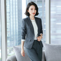 2019 Summer Formal Professional Business Women Suits With Jackets And Pants Female Trousers Sets Summer Blazers Outfits