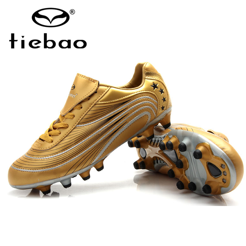 TIEBAO 2017 Ourdoor Sports Men Soccer Shoes Athletic Leather Soccer Cleats Sneakers Trainers New Design football boots