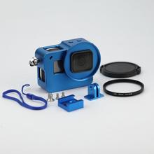5 Colours Sports activities Camcorder Match For GoPro HERO5 Housing Shell CNC Aluminum Alloy Protecting Cage For GoPro HERO5 S0I43 T66