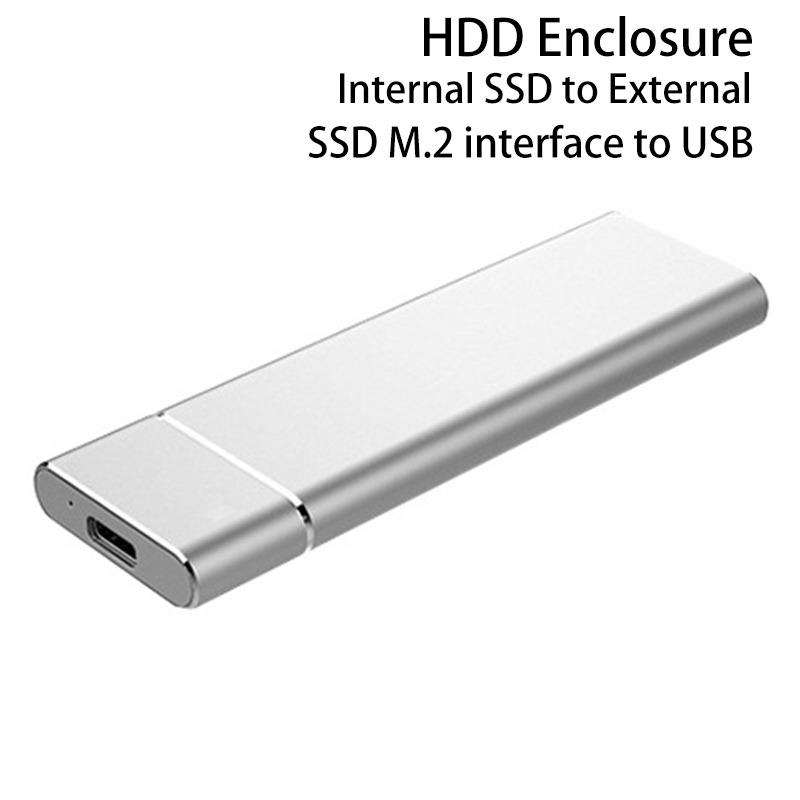 HDD Enclosure M.2 NGFF To 3.0 USB Internal SSD to External Hard Drive Disk Case Hard Disk Box 2230/2242/2260/2280 YLHDD-M2302 ugreen hdd enclosure sata to usb 3 0 hdd case tool free for 7 9 5mm 2 5 inch sata ssd up to 6tb hard disk box external hdd case