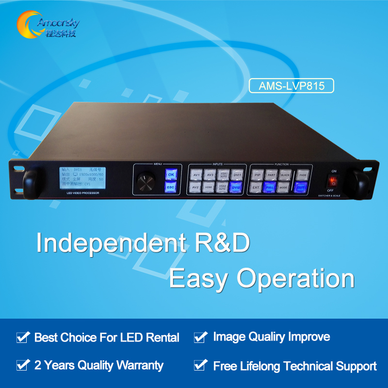 Independent model design AMS LVP815 video controller hdmi video wall controller for led screen display usage best price