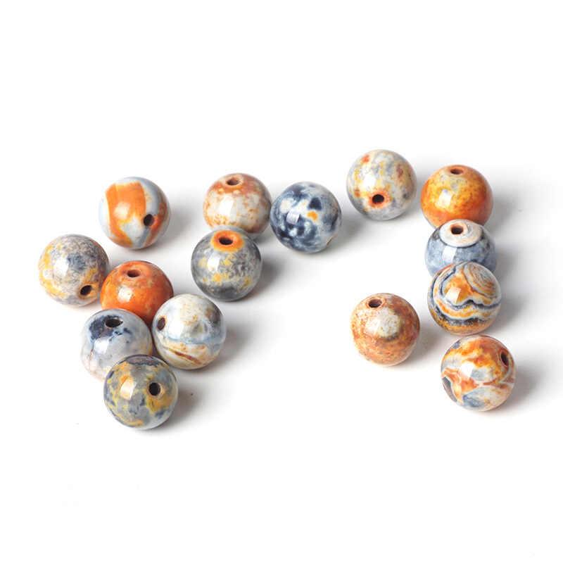 ส้มอาเกตลูกปัดคริสตัลหินลูกปัดกลม 6/8/10 มิลลิเมตรอัญมณีสำหรับมุสลิมสวดมนต์สร้อยข้อมืออุปกรณ์เสริมเครื่องประดับ