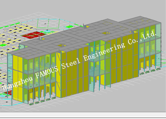 high level office steel structure building architectural and structural engineering designs institute