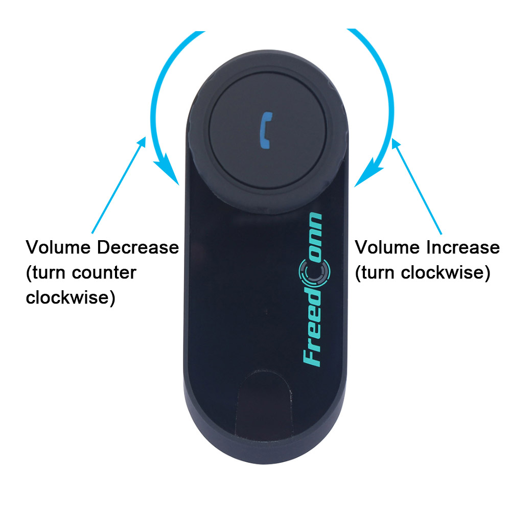 2 stks BT Interphone Motorhelm Bluetooth Intercom Draadloze Moto - Motoraccessoires en onderdelen - Foto 2