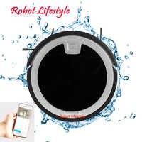 5.6cm humide sec application mobile télécommande wifi fonction automatique aspirateur robot