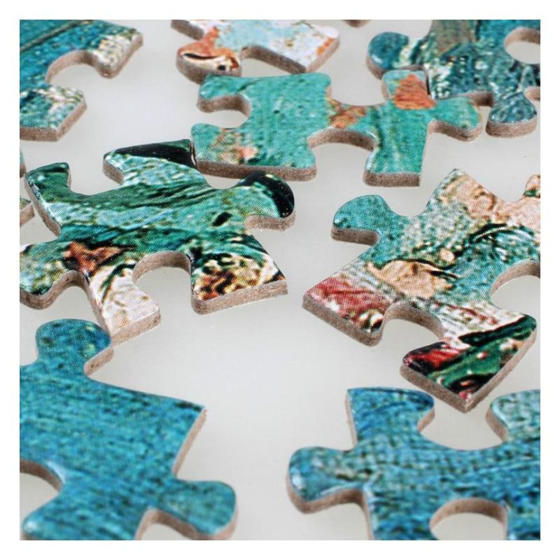 DIY obrazovne dekompresijske igračke Puzzle 2000 kom. Stari majstor - Igre i zagonetke - Foto 4