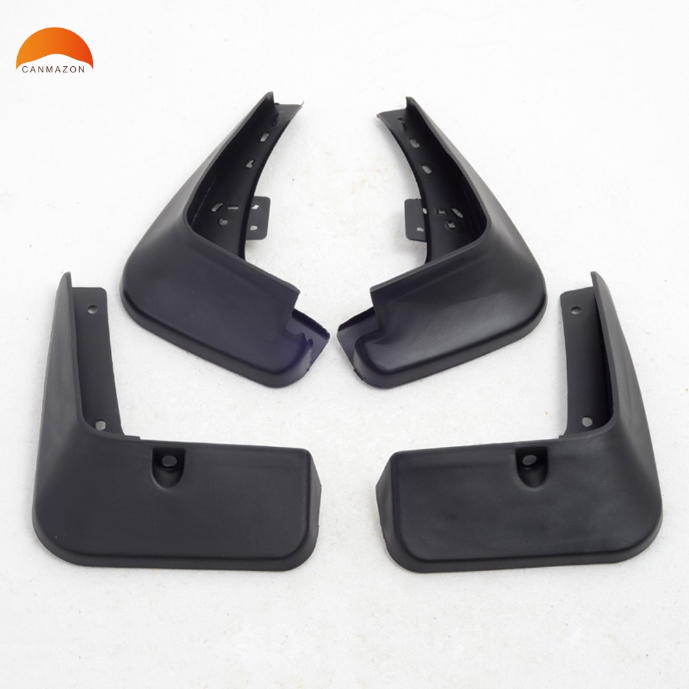 For KIA K5 Optima sedan 2016 Plastic Front and Rear Mud Guard Mudguards Splash Flaps Molding Garnish Cover Trim