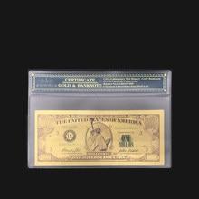 Лучшие продажи Американский Билл доллар банкнот один миллион долларов банкнот в центре сообщений в течение 24k позолоченный к вашему заказу ...