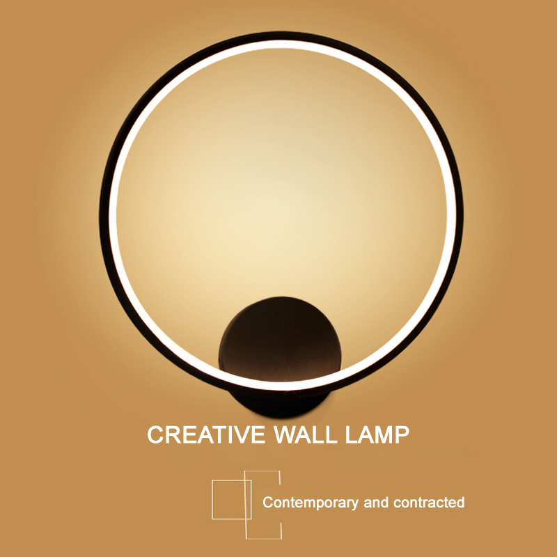 LED Wall Lamps Bed Room Bedside Lights Modern Corridor Lamp European American Indoor Lighting With Led Bulbs WL03