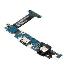 USB şarj aleti şarj standı Bağlantı Noktası Konektörü Flex Kablo Samsung Galaxy G925F/S7/S8/S7 Kenar/A5/ not 3/4 Onarım Yedek Parçalar