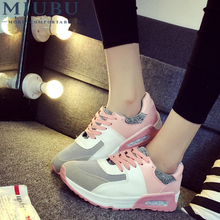 MIUBU Autumn Women Casual Shoes Classic New Style Breathable PU Flat Shoes High Quality Mixed Colors For Women цены онлайн