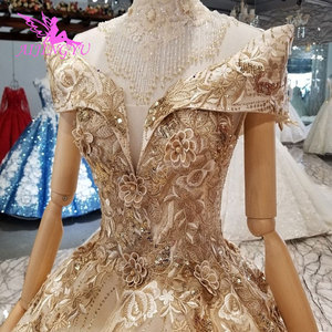 Image 3 - AIJINGYU Cheap Wedding Dresses Made In China Affordable Gowns Plus Size Made In Turkey Lace Bride Gown engagement Robe Size Plus