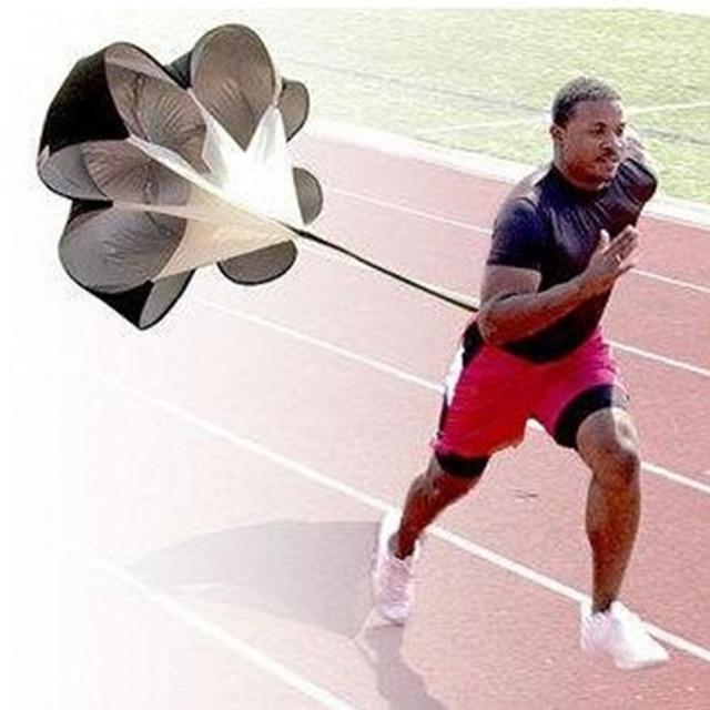 Free Shipping Speed Resistance Training Parachute Running Chute Soccer Football Training Parachute Umbrella