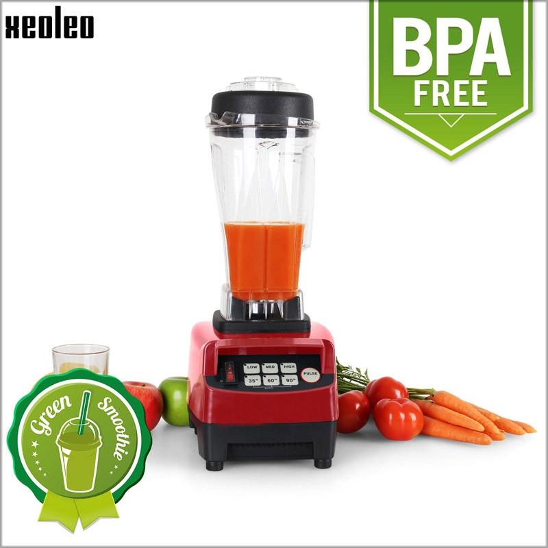 Xeoleo Commercial Food blender 3HP Food mixer 2L Blender mixer 110V/220V 50hz/60hz EU/AU/UK Plug Blend machine BPA free Juicer