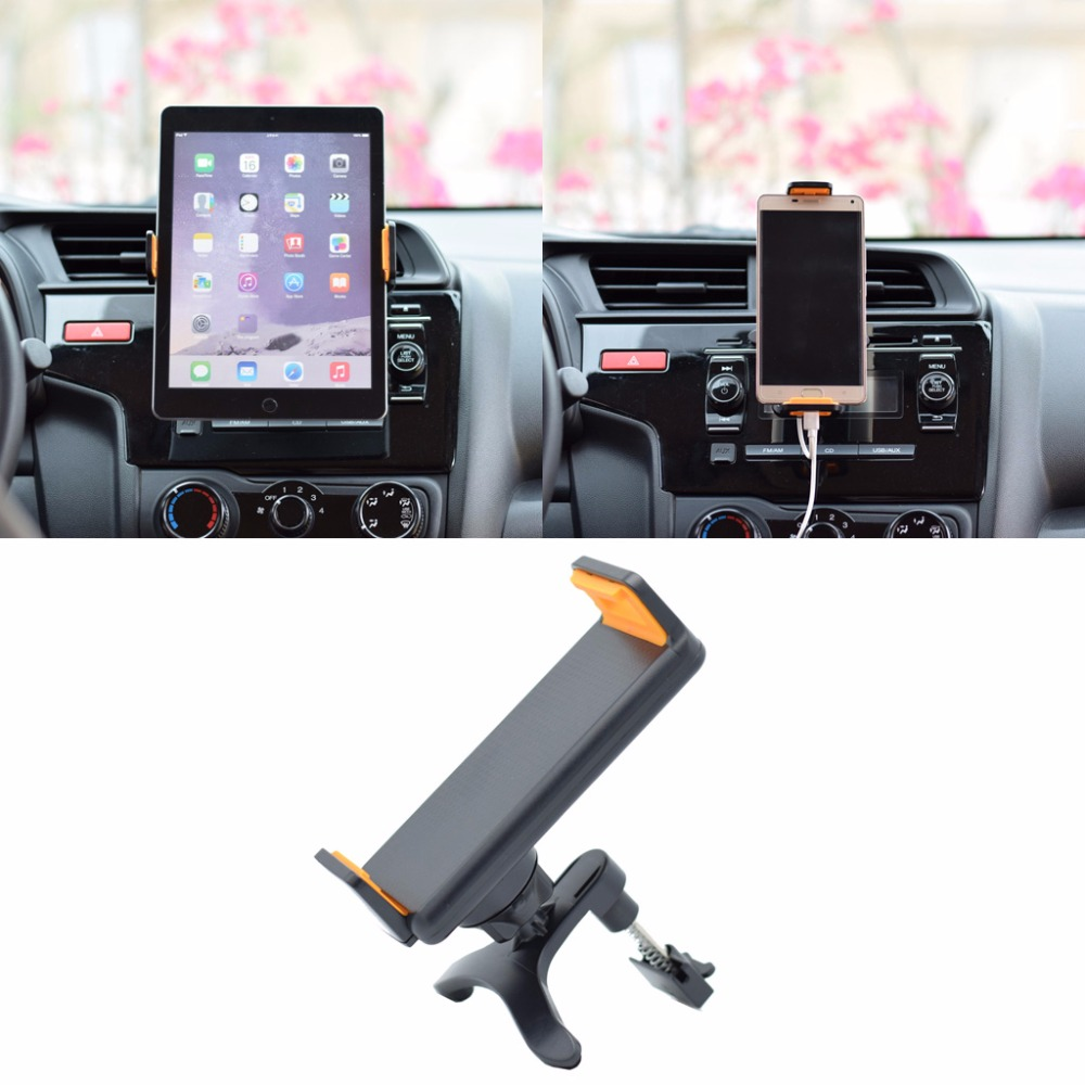Universal 360 Degree Rotating Car Air Vent Mount Holder Stand For iPhone iPad GPS Xiaomi Samsung LG Tablet 4-10 Inch