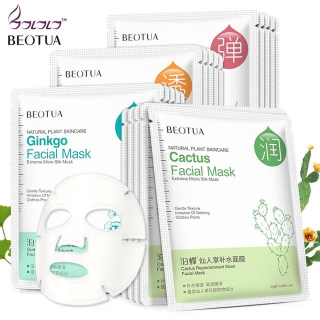 Máscara de Extracto de planta Facial BEOTUA máscara para el cuidado de la piel
