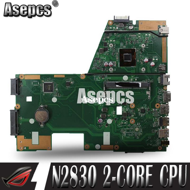 Carte mère d'ordinateur portable Akemy X551MA pour ASUS X551MA X551M X551 F551MA D550M Test carte mère d'origine N2830 CPU 2 cœurs