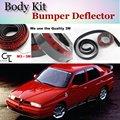 Бампер для губ дефлектор губы для Alfa Romeo 33 155 AR передний спойлер юбка для вентиляторов Тюнинг автомобиля/комплект кузова/полоса