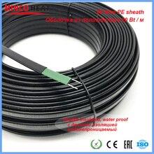 100m 20 W/m 65C Selbst regulierung Heizung Band Winter Ablauf Wasser Rohr Einfrieren Schutz Wärme Kabel
