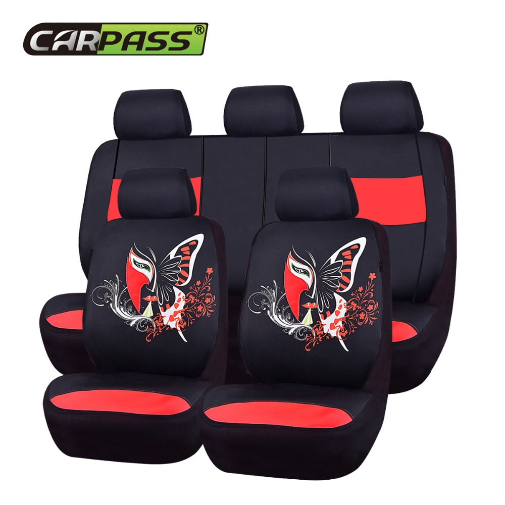 Hot Sale 2018 New Fashion Chinese Facebook Automobile Seat Covers     2018 New Fashion Chinese Facebook Automobile Seat Covers Universal Car  Styling Four Season Car Seat Covers Fit For 40 60 50 50