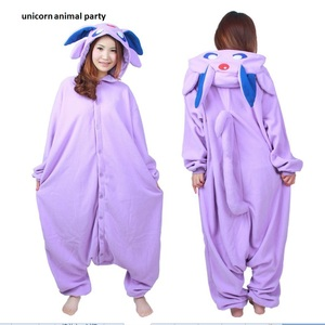 Image 1 - Halloween Kigurumi Anime Purple Espeon Onesie Cosplay Costume Unisex Cartoon Umbreon Pajamas Party For Adult Men Women