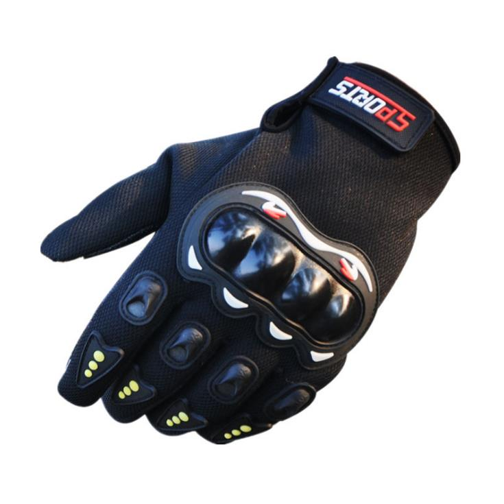 Outdoor Anti Skid Gloves Full Finger Hard Knuckle unisex Sports Combat Touch Screen Tactical Gloves Shockproof Bike Motorcycle in Safety Gloves from Security Protection