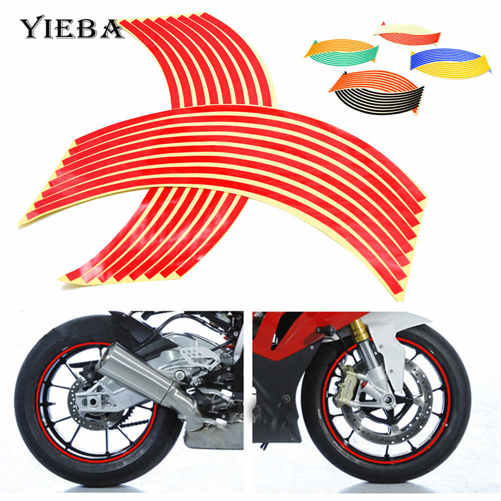 Detail feedback questions about motorcycle waterproof rim wheel reflective decals decoration sticker for yamaha fz09 mt 09 fz07 mt07 fz 10 mt10 tmax 500
