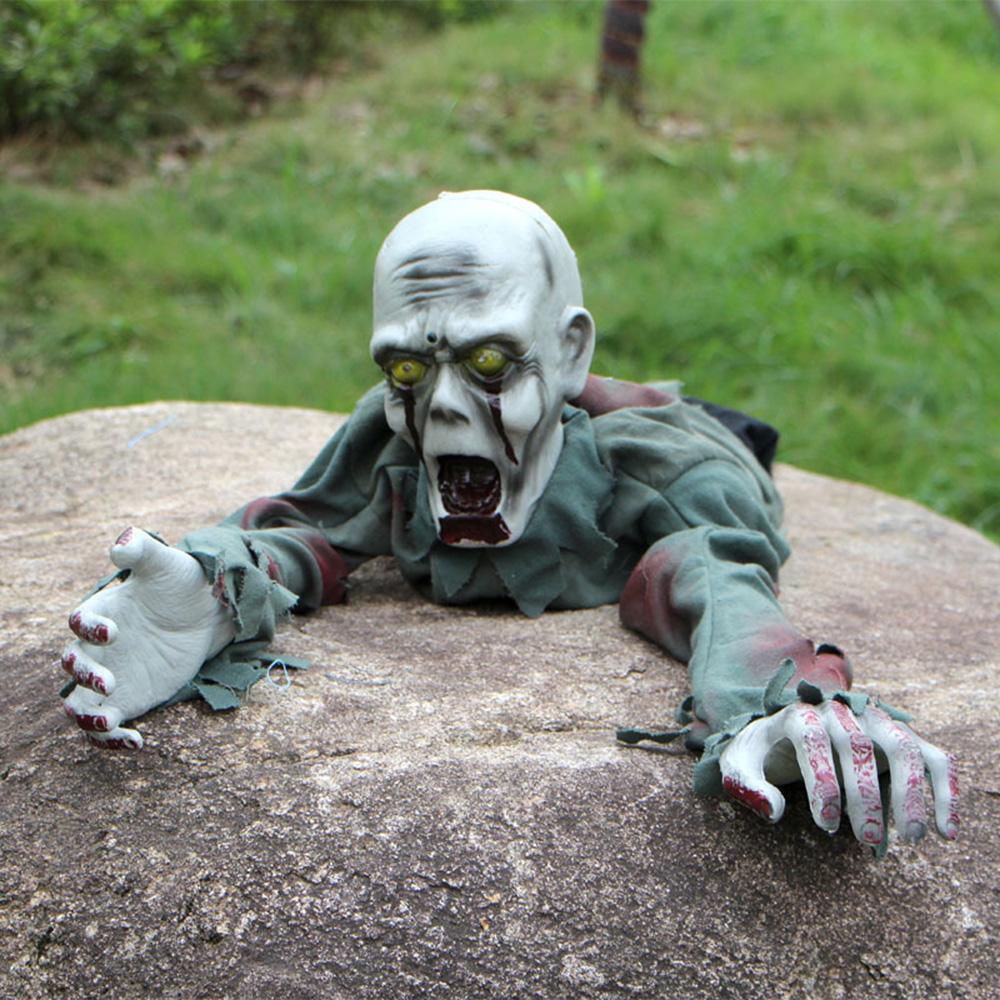 1 Pc Halloween Decorations Scary Bald Crawling Ghosts