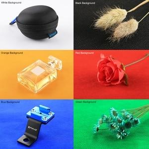 Image 5 - Mini Vouwen Lightbox Fotografie Foto Studio Softbox 2 Panel Led Light Soft Box Foto Achtergrond Kit Light Box Voor Dslr camera