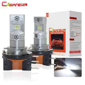 Cawanerl H15 80 Вт 3200LM каждый комплект импортный CSP шарик 6000 К Белый 12 В автомобильные аксессуары противотуманные фары Дневные ходовые огни DRL